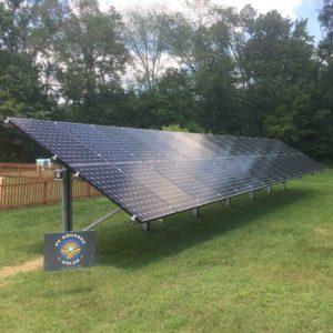 Ground Mount PV System, 10 kW