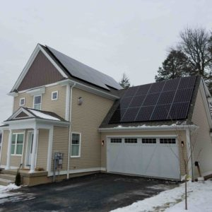 Roof Mounted Solar Panels, 13 kW