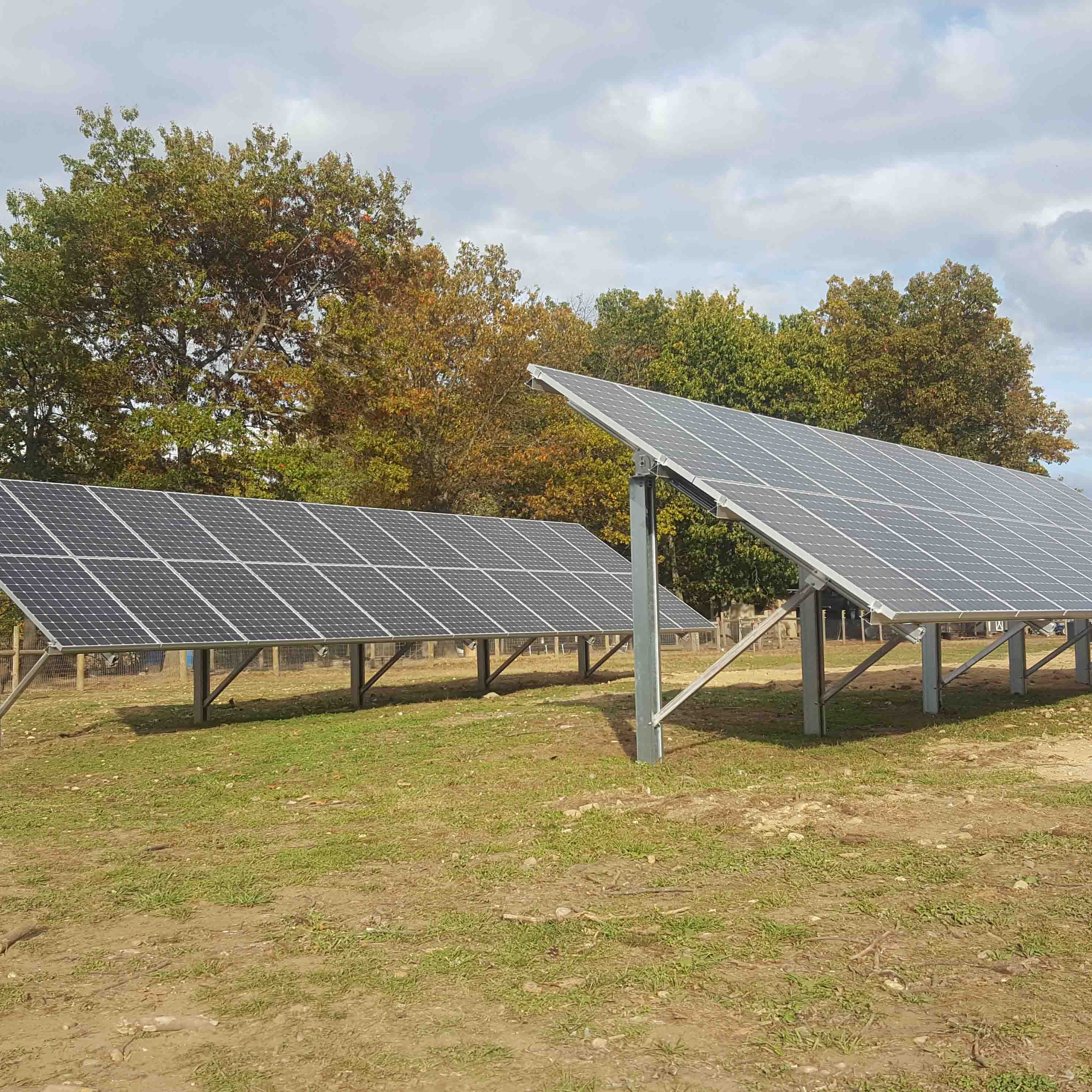 Ground Mounted Solar Array, 14.38 kW