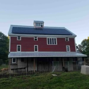 Roof Mounted Solar System, 13.08 kW