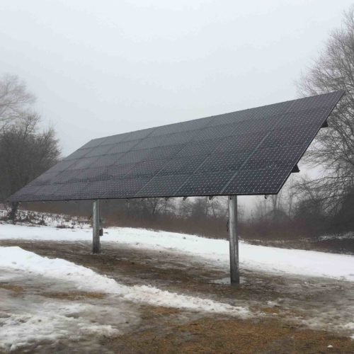 Top-of-Pole (TPM) Solar Array, 14.4 kW