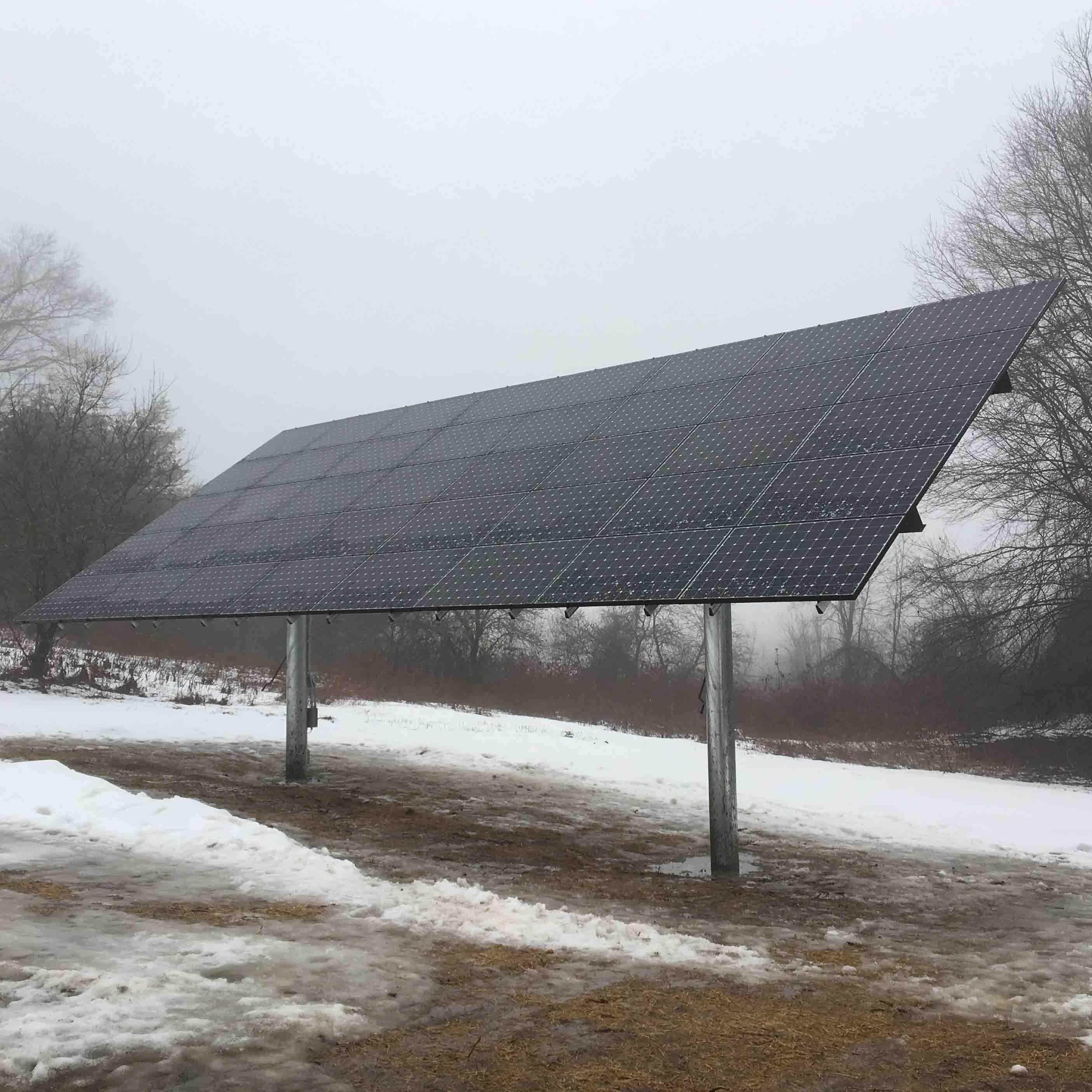 Top-of-Pole (TPM) Solar Array, 14.4 kW