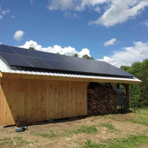 Custom Structure with Solar Panels, 5.89 kW