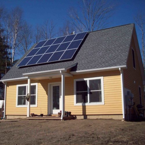 Roof Mounted Solar System, 3 kW- Habitat for Humanity