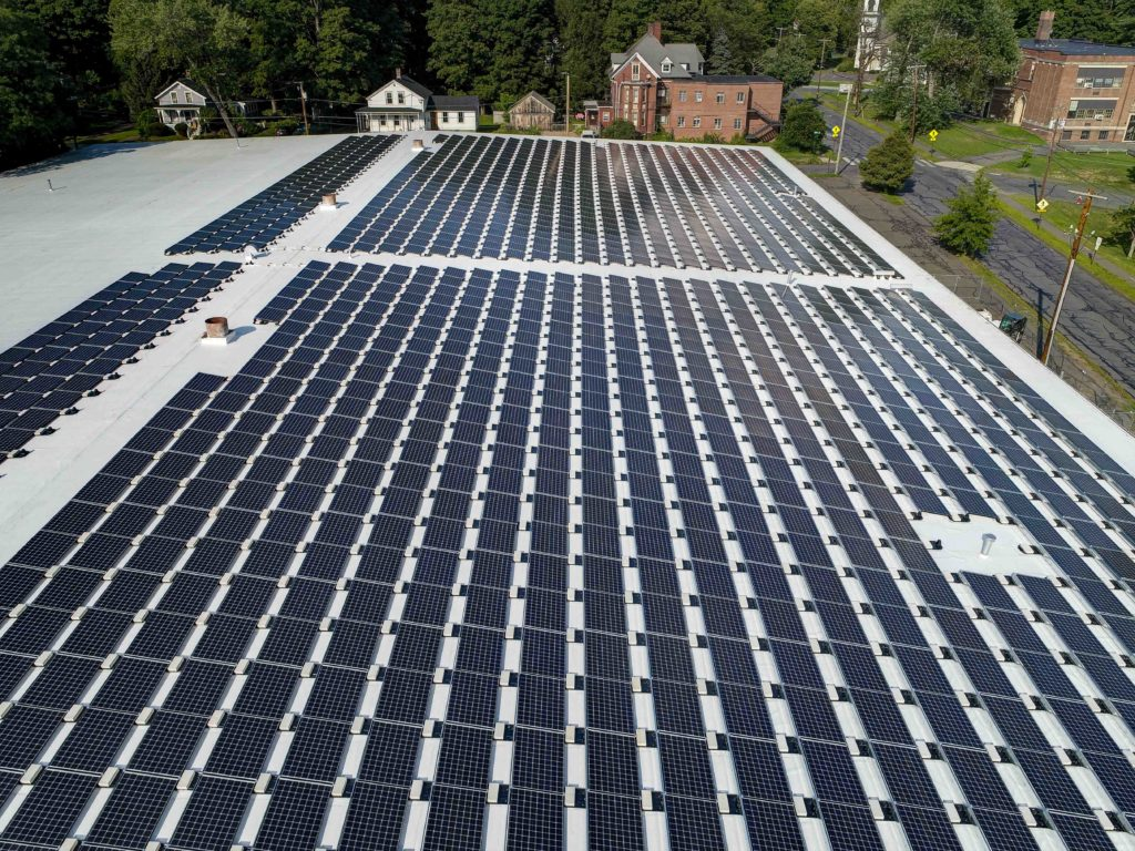 Pioneer Valley Books Solar Array
