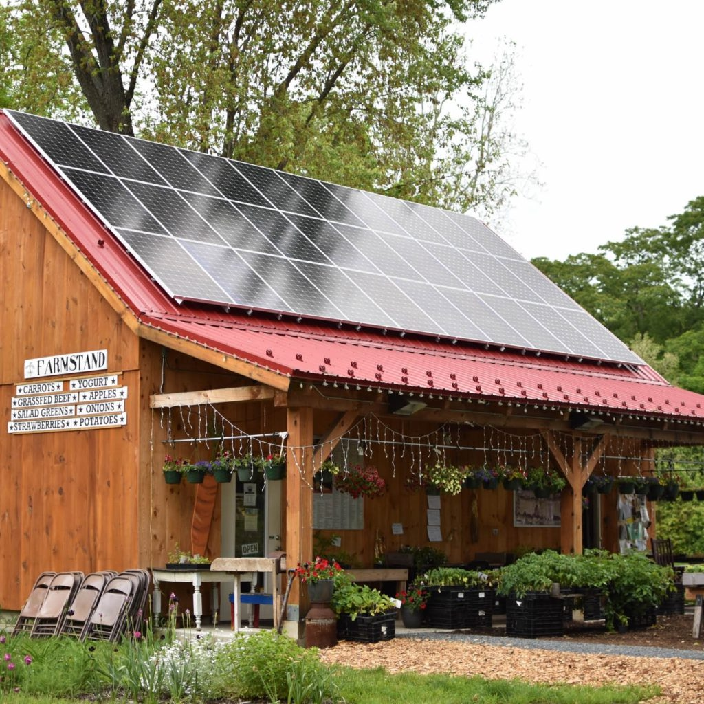 Simple Gifts Farm Solar Array